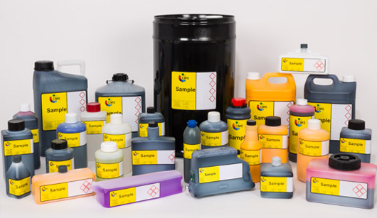 Range of CMS inks and solvents for a wide range of inductrial inkjet printers such as Domion, Videojet, Linx, Hitachi, Markem-Imaje, Willett, Matthews, Citronix, Rea-Jet, Leibinger, EBS, KGK and more