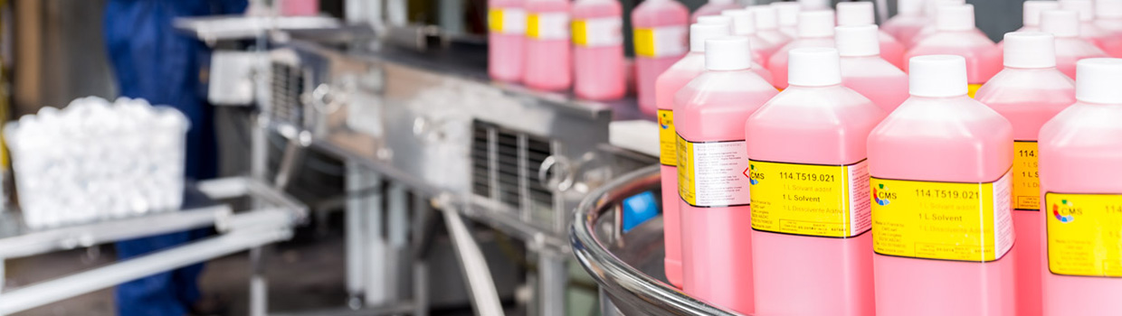 Solvent, make-up fluid & Top-up fluid production line