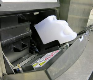 CMS Cartridge for Videojet 1000 series installed in Videojet printer